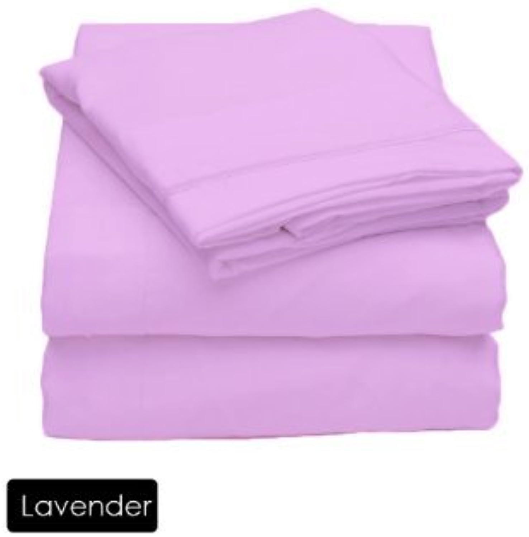 comprar mejor Scala 550Hilos de algodón Egipcio King Fundas Fundas Fundas de Almohada 550TC 100% algodón sólido de Lavanda  hasta 42% de descuento