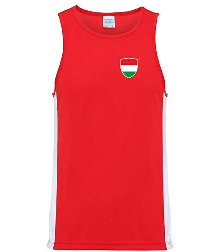 Nation Ungarn Trikot Tank Top Athletic Training ATH BR-R (M)