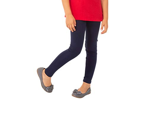 BeLady meisjes lange legging van katoen - ondoorzichtig - enkellang lange maat 92 98 104 110 116 122 128 134 140 146 152