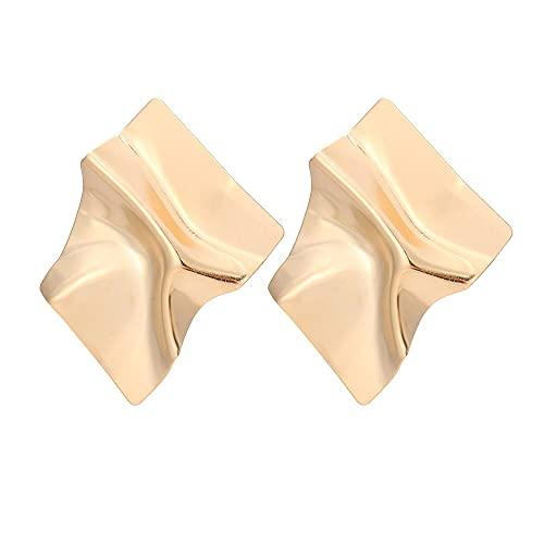 FEARRIN Pendientes a Granel Grandes Pendientes Colgantes de declaración joyería geométrica Mujeres Grandes Pendientes Colgantes Modernos para Mujer H163-E686-1