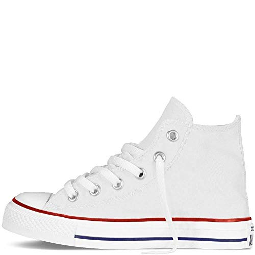 Converse Chuck Taylor All Star Hi 015860-21-3, Unisex - Kinder High-top Sneakers, Weiß (Optical Weiß), EU 25