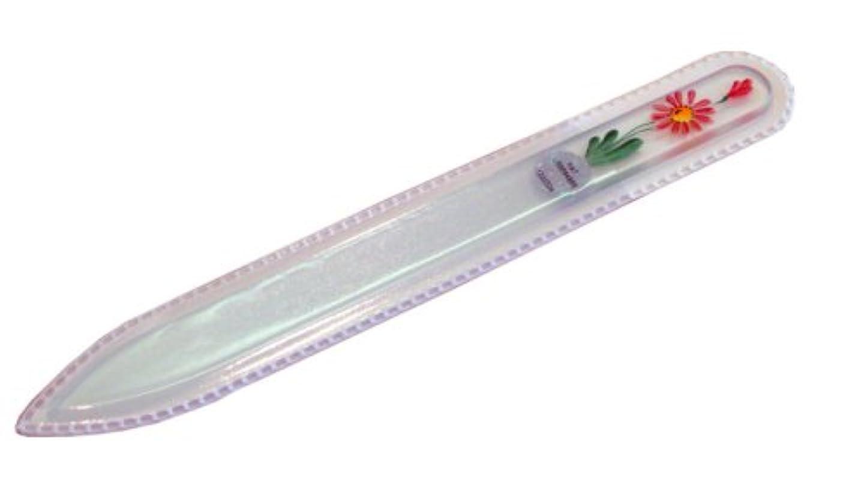 ブラジェク ガラス爪やすり 140mm 片面タイプハンドペイント#163R