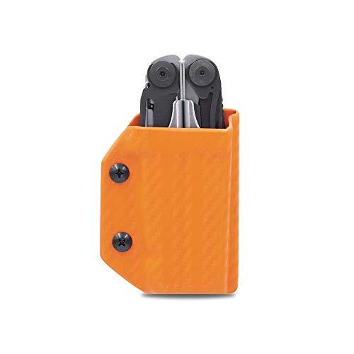 Clip & Carry Kydex Multitool Scheide für Surge aus Leder – Made in USA (Multi-Tool nicht im Lieferumfang enthalten) EDC Multi Tool Hülle Holster Cover