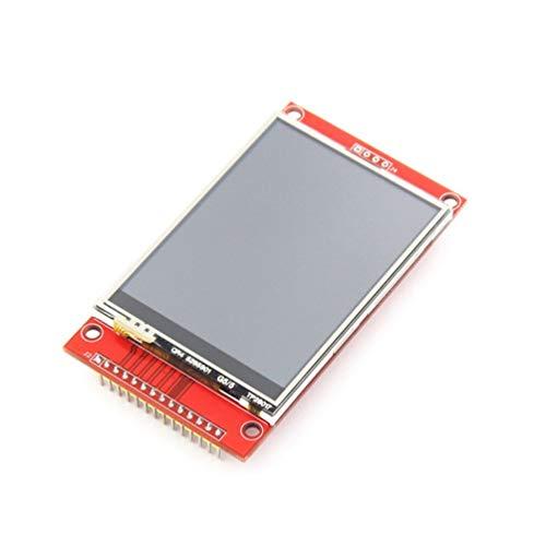 HETUI Módulo TFT LCD de 2,8 Pulgadas con Panel táctil ILI9341 Unidad IC 240 (RGB) 320 SPI (Rojo)