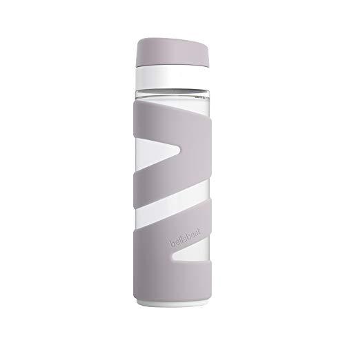 Bellabeat Trinkflasche für Damen, kompatibel mit iPhone/Android, Violett
