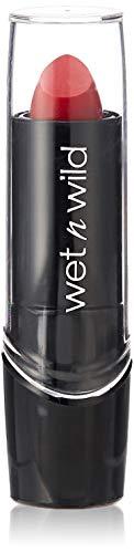 Wet 'n' Wild Silk Finish Pflegender Lippenstift, mit Aloe Vera und Vitamine A und E, Hot Red, 20g
