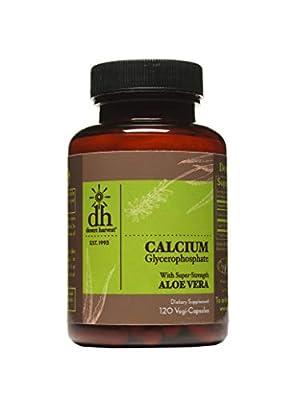 Desert Harvest Calcium Glycerophosphate (120 Capsules - 230mg Per Capsule) - Removes Up to 95% of Acid in Food & Drinks