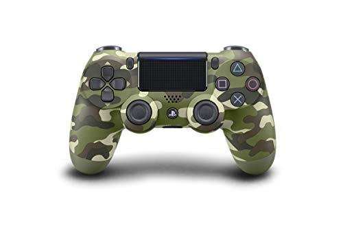 Sony Manette PlayStation 4 officielle, DUALSHOCK 4, Sans fil, Batterie rechargeable, Bluetooth, Green Camo (Vert Camouflage)