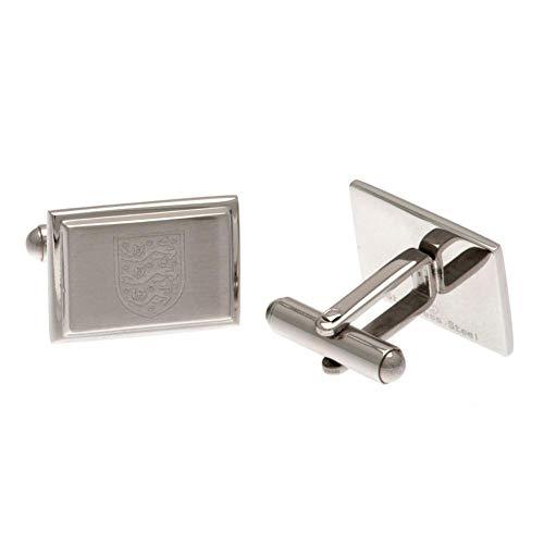 Unbekannt England FA Edelstahl Manschettenknöpfe (Einheitsgröße) (Silber)