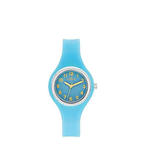 Dugena Mädchen Analog Quarz Uhr mit Plastik Armband 4460895