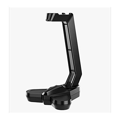 CZYNB Portos de escritorio Soporte para auriculares para PC Gaming Headset Stand Creative Headset Management/Tray Gamer Titular de auriculares Organizador de escritorio Altura ajustable