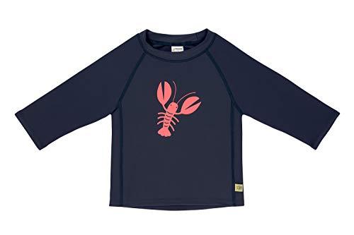 LÄSSIG Unisex Baby Schwimmshirt Rash-Guard-Shirt, Blau (Lobster), 12 Monate