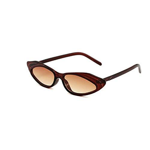 Sonnenbrille Sunglasses Neue Klassische Retro Kleine Box Kunststoff Sonnenbrille Modedesign Damen Reise Sonnenbrille Coole Herren Outdoor Fahrspiegel Braun