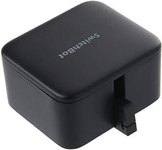 SwitchBot スイッチ ロボット スマートスイッチ タイマー機能搭載 iot スマートホーム スマホで 遠隔 ボタン コントロール 貼り付け簡単 いろんな家電のスイッチに適用 Hub Plusを使えば Amazon Alexa Google Home IFTTTなどに対応可能(黒) …