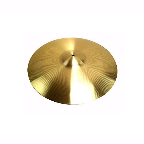 Fayeille Ride-Becken, langlebiges Instrument, Vintage-Stil, traditionelle Standard-Anfänger-Ersatz-Schlagzeug-Set, Crash-Sy-Installation, Messing-Legierung, Nicht Null, Wie abgebildet, 1