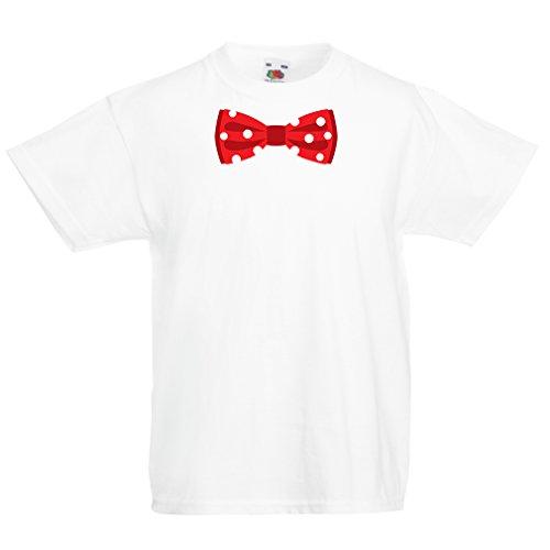 N4551K La Camiseta de los niños Look Like a Boss (14-15 Years Blanco Multicolor)