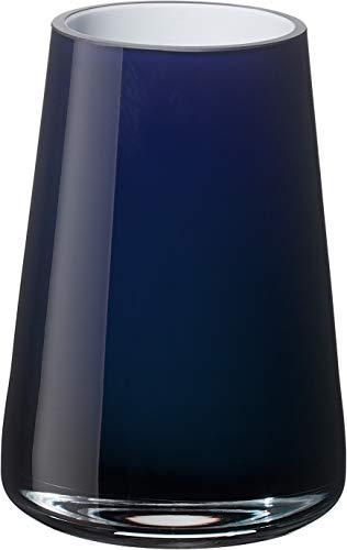 Villeroy & Boch Numa Mini Vase Midnight Sky, 12 cm, Glas, Blau