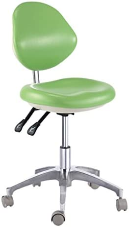 Deluxe Dental Mobile Chair Surgical Stool with Doctor's Outlet Outlet ☆ Free Shipping SALE Backrest
