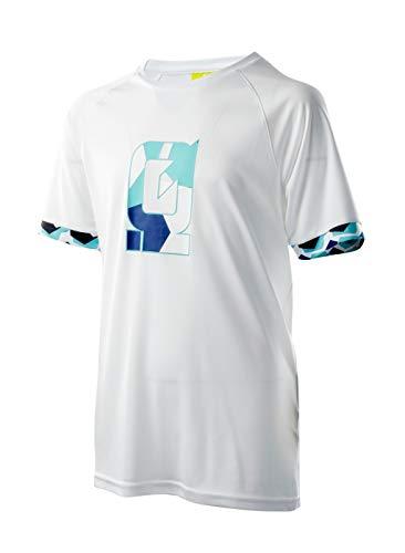 Intelligence Quality Camiseta Funcional Miho Jr para Chico, Niños, Camiseta Funcional, 80266, Blanco, 164