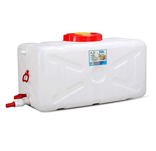 ZhHOME Deposito Agua 25L Grande Almacenamiento De Agua Contenedores con Grifo El Plastico Grado De Comida Almacenamiento De Agua Al Aire Libre Depósito De Agua para Viaje Camping(Size:25L)