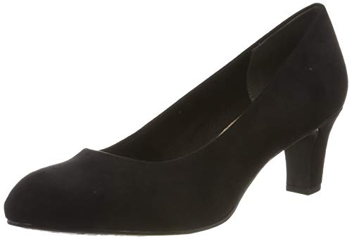 Tamaris Damen 1-1-22418-23 Pumps, Schwarz (Black 1), 38 EU