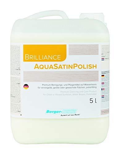 Berger-Seidle Reinigungs- und Pflegemittel für geölte und geölte/gewachste Holzfußböden (5 Liter)