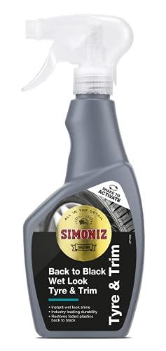 Simoniz SAPP0073A Back to Black Wet Look Tyre Shine 500ml