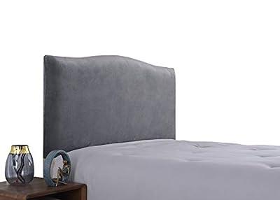 Estirable y universal: esta funda de cabecera es muy elástica, por lo que es aplicable a la mayoría de los tipos de camas, con una banda elástica cosida, es mejor envolver la cabecera y permanecer en la cabecera de la cama. Material premium: la funda...