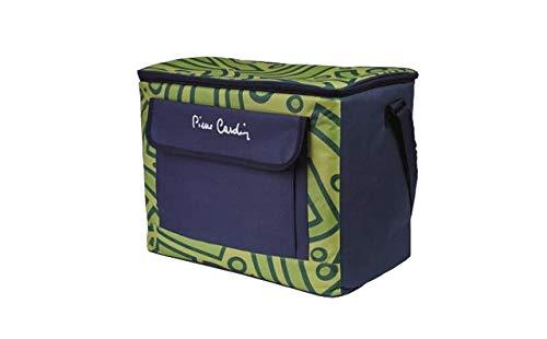 Pierre Cardin, Linea Aruba, Bolsa Térmica, 30 litros, Azul Celeste, Verde