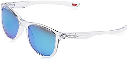 OAKLEY 0OO9340 Gafas de sol para Unisex, Transparente Brillo, 0