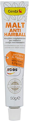 GIMBI Pasta para roedores - Snack Saludable para roedores con Malta y Fibra Que Ayuda a la digestión, 1 Tubo (1 x 50 g) 🔥