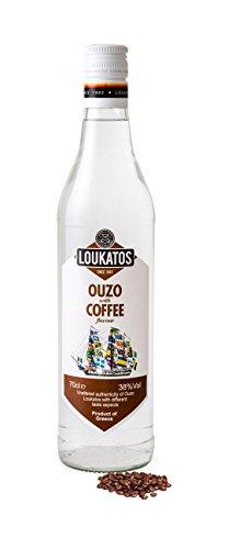 Loukatos Ouzo mit Kaffeegeschmack 700 ml
