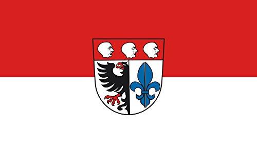 Unbekannt magFlags Tisch-Fahne/Tisch-Flagge: Wangen im Allgäu 15x25cm inkl. Tisch-Ständer