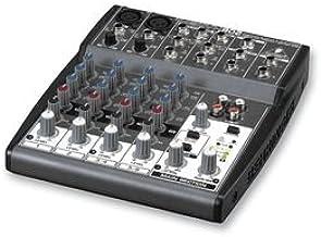 Behringer Xenyx 802 color negro - Mezclador para DJ