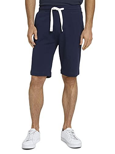 TOM TAILOR Herren 1026023 Sweatpants Bermuda Shorts, 10932-Sailor Blue, 3XL