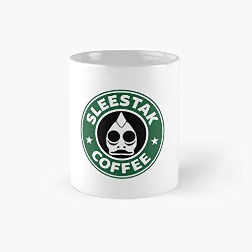 Sleestak - Taza de café clásica | El mejor regalo divertidas tazas de café de 325 ml