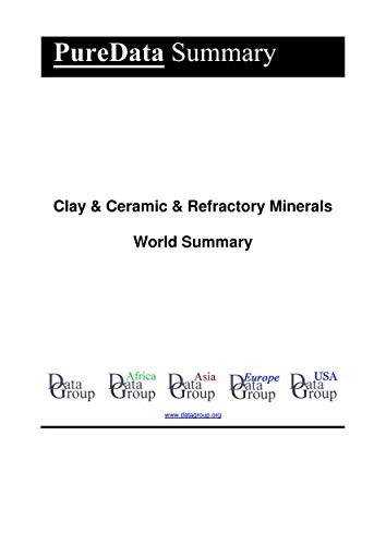 Clay & Ceramic & Refractory Minerals World Summary: Market Values & Financials by Country (PureData World Summary Book 6119) (English Edition)