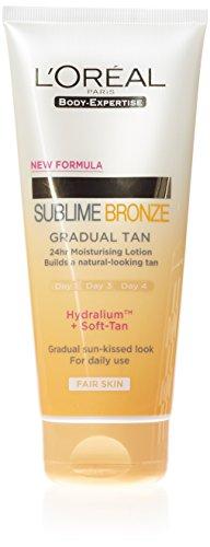 L'Oréal Sublime Bronze Gradual Tan Lotion Light, 200ml