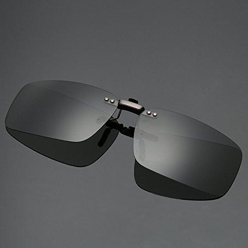 Yuying Visión cercana a la conducción Gafas de Sol Polarizadas Clip Hombres...
