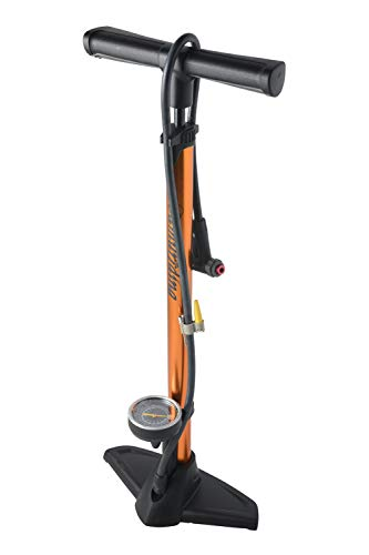 Samuriding 自転車 空気入れ 仏式 ロードバイク クロスバイク フロアポンプ エアゲージ付 (SIG-FP003-G)