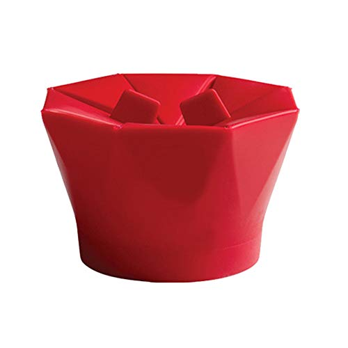 Affordable Beher Microwave Popcorn Popper, Silicone Popcorn Maker, Collapsible Bowl Popcorn Maker Fo...