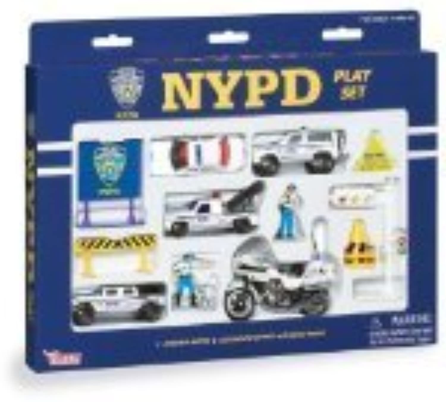 Daron Nypd Playset, 14-Piece by Daron