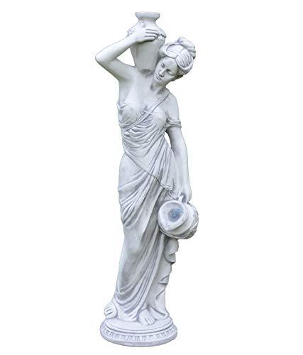 gartendekoparadies.de Große Massive Statue Maia (112 cm) Gartenfigur aus Steinguss frostfest