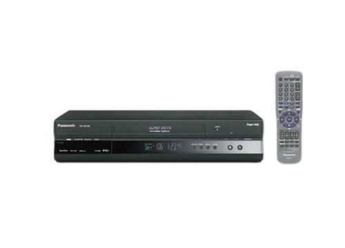 Panasonic NV-SV120EG-K S-VHS Videorecorder schwarz