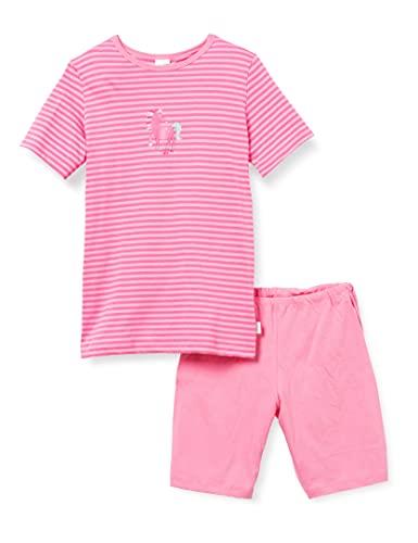 Schiesser Kinder Mädchen kurzer Schlafanzug Einhorn - 100% Organic Cotton