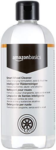 Amazon Basics - Detergente per cerchioni Smart Wheel Cleaner, flacone spray da 500 ml
