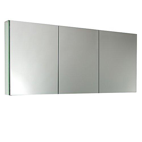 Fresca FMC8019 60' Wide Bathroom Medicine Cabinet with Mirrors