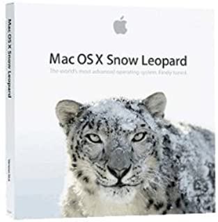 mac os x 10.6 snow leopard disc