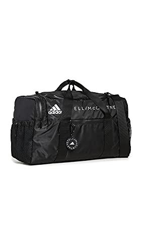 adidas by Stella McCartney Women's ASMC Duffel Bag, Black/White/White, One Size