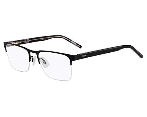 Hugo Boss (HG-1076 003) Acetate - Gafas de sol de plástico y metal, color negro mate